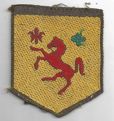 Rare Off Uniform WW 2 US Army 113th Cavalry Group Patch Inv# 4978