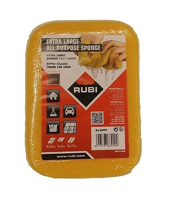 "Rubi Tools 68999 Extra Large Grout Sponge 7 1/2"" x 5 1/2"""