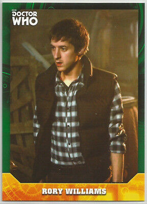 Doctor Who Signature Series 2017 ~ GREEN PARALLEL Base Card #16 Rory #12/50