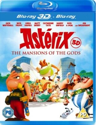 Asterix & Obelix - Mansion Of The Gods 3d+2d Blu-Ray Nuevo Blu-Ray (Kal8484)