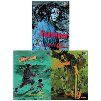 Vagabond vizbig ed gn Series 2 book 4,5,6 : 3 Books Collection Set(3 in 1) NEW