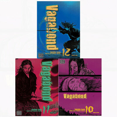 Vagabond vizbig ed gn Series 4 Book 10,11,12 : 3 Books Collection Set(3 in 1) PB