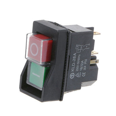 KLD-28A Waterproof IP55 Magnetic Switch Explosion-proof Pushbutton Switches 220V