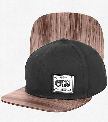 Picture Sheridan Wood Snapback Cap black