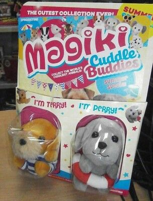 Magiki Cuddle Buddies magazine Summer Special: Terry the Terrior & Perry Poodle