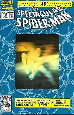 The Spectacular Spider-Man Comic Issue 189 Modern Age First Print 1992 Dematteis