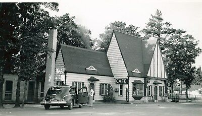 1941 Pure Oil Gas Station Photo Fayetteville NC ch2430