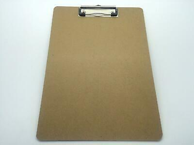 A4 Quality Wooden Clipboard with Hanging Hole - Clip Board Office