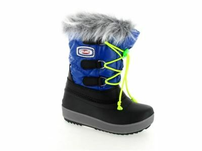 Olang Magic Kids Boys Girls Fleece Lined Warm Snow Ski Ankle Boots Arctic Shoes