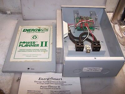 New Energy Smart Power Planner Ii Motor Control System 1 Phase 60 Amp 115/230V