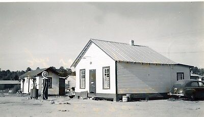 1941 Pure Oil Gas Station Photo Enfield NC Gas Globe ch2405