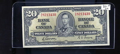 1937 Bank of Canada $20 Gordon Towers  BL5064