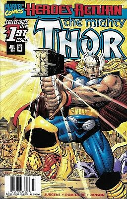 Marvel The Mighty Thor comic issue 1 1998 Modern age