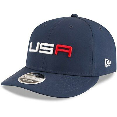 6956e17ac98 New Era Official 2018 Ryder Cup Saturday Low Profile 9FIFTY Adjustable  Snapback