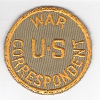 Very Hard To Find WW 2 US War Correspondent Patch Inv# Y915