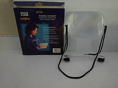 Bausch & Lomb Magni-Viewer-Hands Free Magnifier