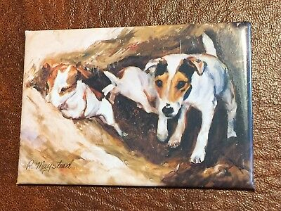 Best Friends Ruth Maystead Magnet NEW JACK RUSSELL TERRIER