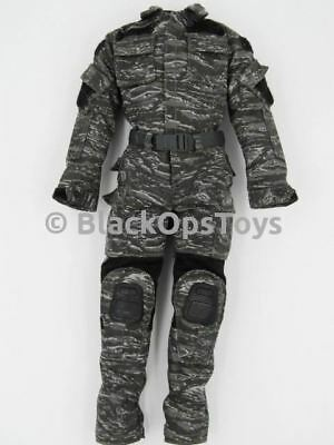 1/6 Scale Easy & Simple CIA SAD Custom Urban Tiger Stripe Camo Uniform