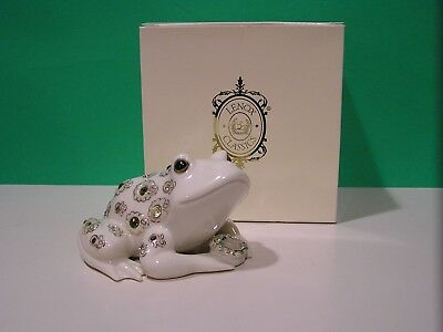LENOX THE PRINCE OF JEWELS FROG sculpture NEW in BOX
