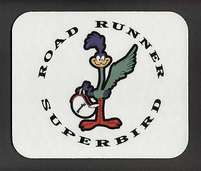 "PLYMOUTH ROAD RUNNER SUPERBIRD Mouse Pad ""FREE SHIPPING"""