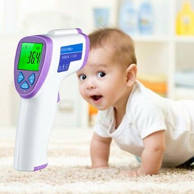 Baby Forehead Non-contact Infrared Digital Thermometer LCD Baby Measure