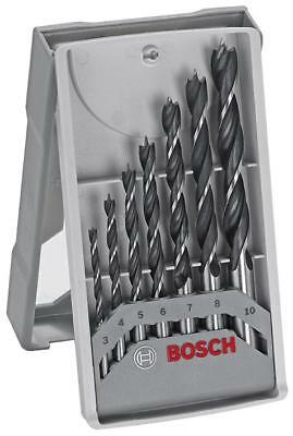 Brad Point Drill Bit Set 7 Piece