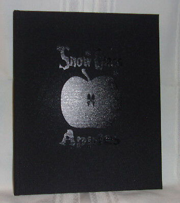 Neil Gaiman SNOW GLASS APPLES Limited SIGNED Wood-cut Art Snow White Horror Play