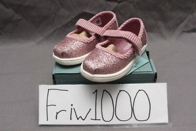 eaf1d26dfd5 Tiny Toms Mary Jane Toddler Rose Glow Iridescent Glimmer corduroy 10012565