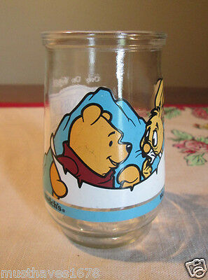 WELCH'S  Winnie the Pooh & Rabbit  You're Smarter Than You Think  Juice glass ##