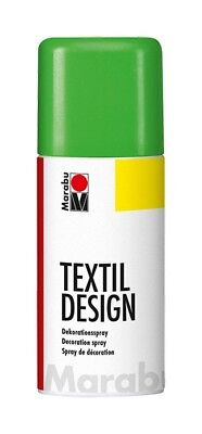 Neon Green Marabu Textile Spray Paint Textil Fabric Spray Paint 150ml