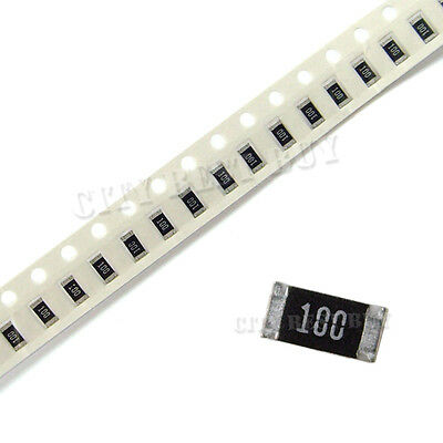 5000 pcs SMD SMT 1206 Chip Resistors Surface Mount 10R 10ohm 100 +/-5% RoHs