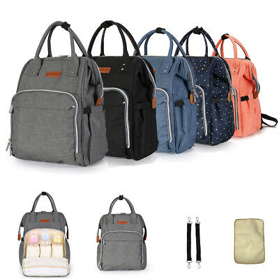 Diaper Bags Multi-function Changing Baby Nappy Backpack Waterproof Maternity Boy