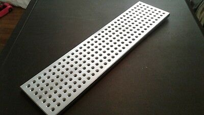 "Sacrificial fixture plate or mini pallet - 4"" x 16"" - taig, sherline, mini mill"