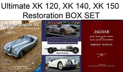 JAGUAR G XK140 Wiring Diagram All Years Laminated Color ... on
