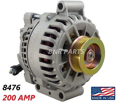 200 Amp 8476 Alternator Ford F Super Duty 6.0L High Output Performance HD NEW