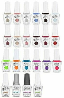 Harmony Gelish Soak-Off - Choose Any Color/Top/Base/Bond/Oil from SERIES 8