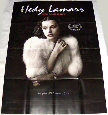 BOMBSHELL : THE HEDY LAMARR STORY hollywood  icon LARGE French POSTER