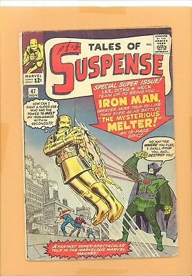 Tales Of Suspense  #47 Marvel Silver Age Gd Rare Look