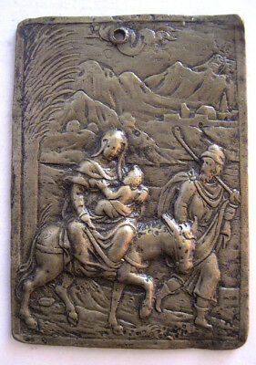 PCW-AN341-GERMAN BRONZE PLAQUE. Ca. 17th Century AD.