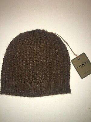 61de9d4f9e8 NEW WITH TAGS Filson Made In Usa Bison Knit Hat One Size -  37.99 ...