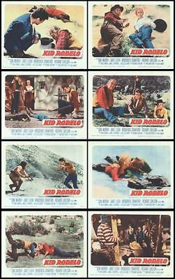 KID RODELO orig 1966 lobby card set posters LOUIS L'AMOUR/JANET LEIGH/DON MURRAY