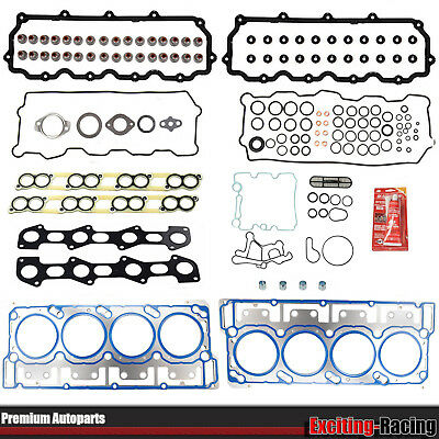 MLS Head Gasket Set w/ 18mm Dowels for 03-10 Ford 6.0L Powerstroke Diesel Turbo