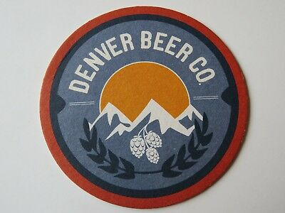 Beer Pub Coaster ~ DENVER BEER Company * Add'l Coasters Only $0.25 S&H Worldwide