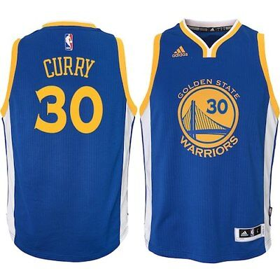 c93f3eb041d Stephen Curry Golden State Warriors Youth Swingman Basketball Jersey - Royal