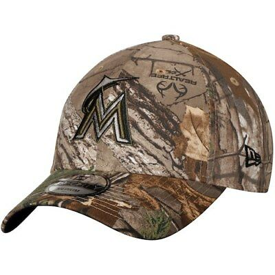 006019cc505 MIAMI MARLINS NEW Era Realtree 49FORTY Fitted Hat - Camo -  27.99 ...