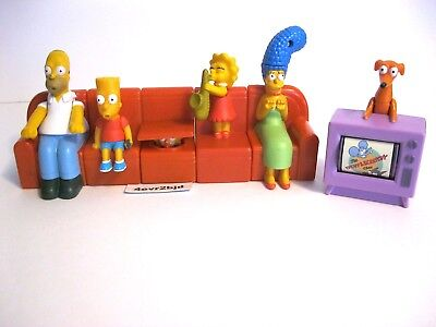Simpsons Couch A Bunga Bart Marge Tv Party Cup Cake Top Cartoon Movie Play Toys