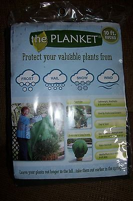 the Planket Frost Protection Plant Cover 10 ft Round