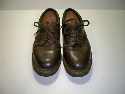 Dr Martens The Original Men's Vintage Brown Leather 5 Eye Oxfords Size 9 M