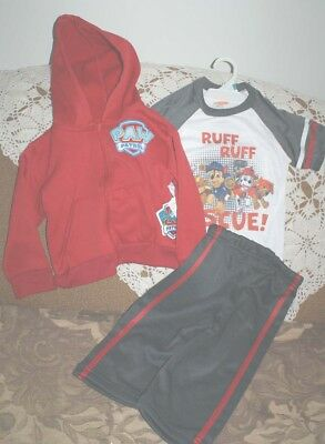Nickelodeon Paw Patrol 3-piece outfit  Jogging Sweatsuit NEW 3T/18 Months