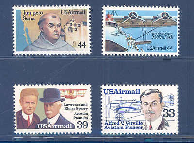 PKStamps - US - 1985 - Air Mail Year Set -  C113/C116  MNH Set of 4 Singles
